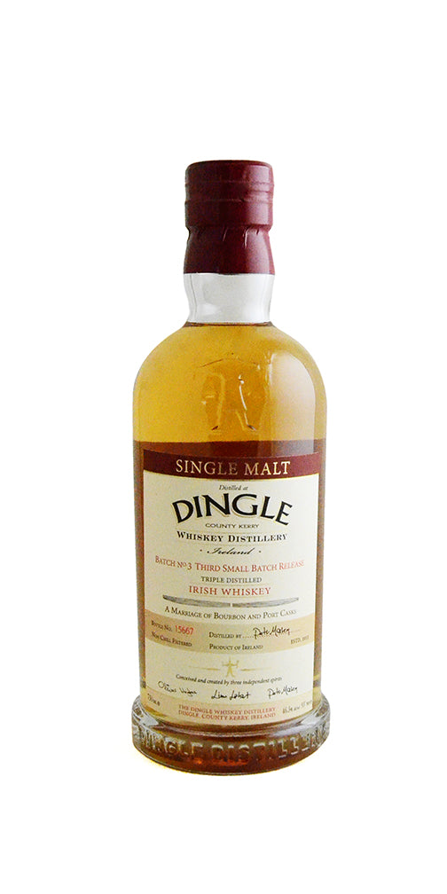 Dingle Batch 3 Single Malt Irish Whiskey