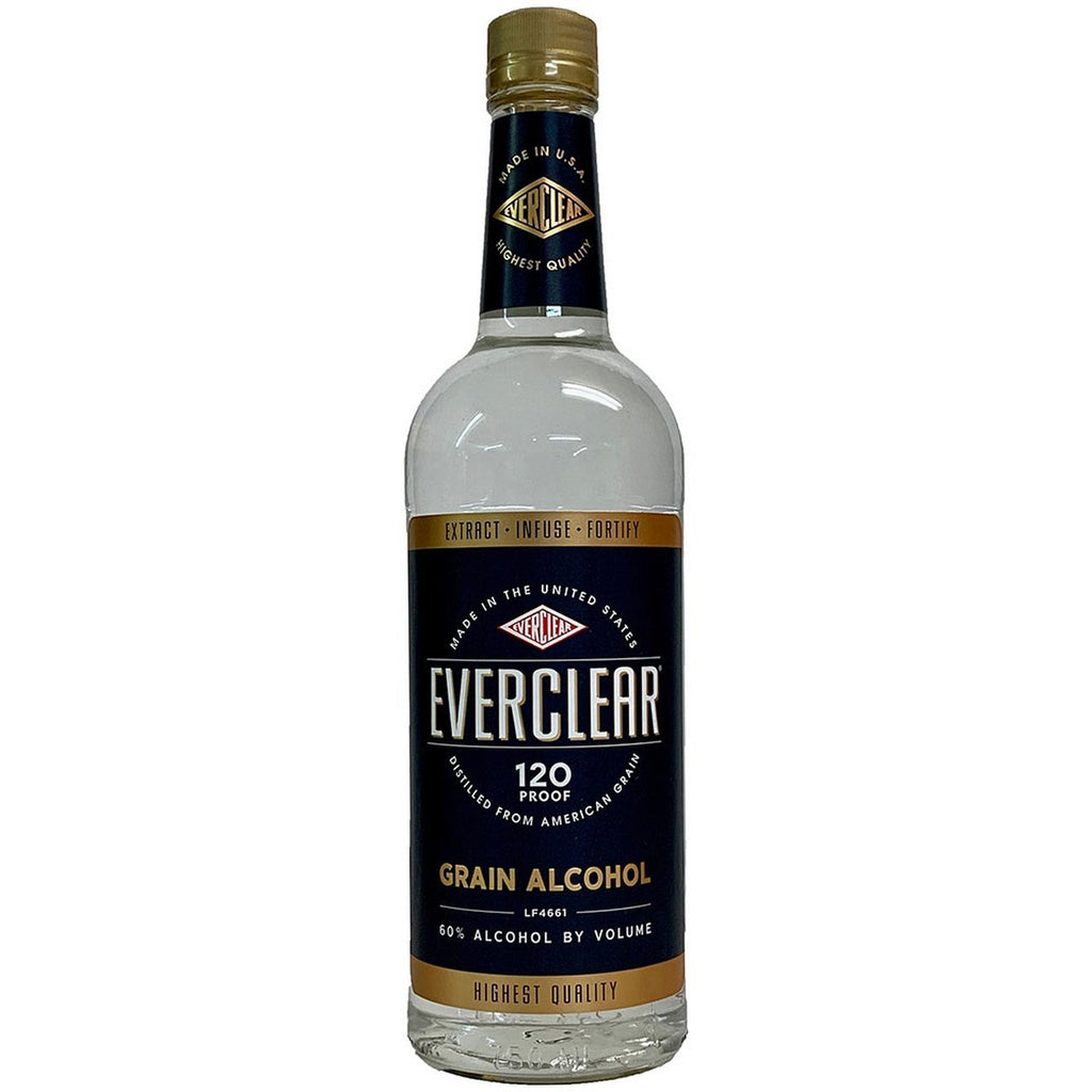 Everclear Grain Alcohol 120 Proof