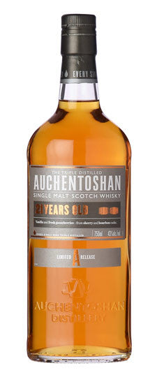 Auchentoshan 21 Years Single Malt Scotch