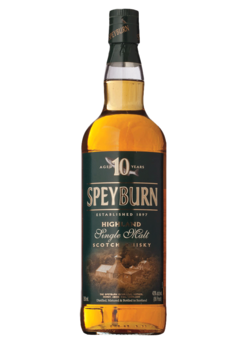 Speyburn Single Malt Scotch Whiskey 10 Year