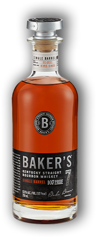 Bakers Bourbon 7 Year Single Barrel Bourbon Whiskey