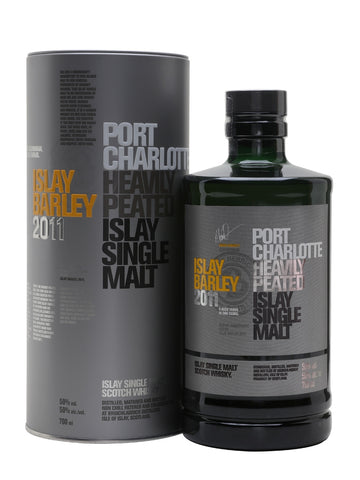 Bruichladdich Port Charlotte Islay Barley Heavily Peated Single Malt Scotch 2011
