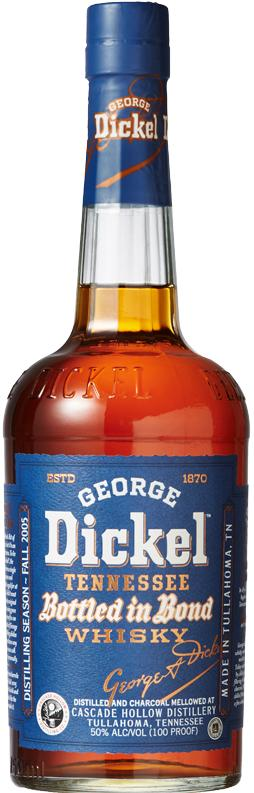 George Dickel Bottled in Bond Tennessee Whiskey
