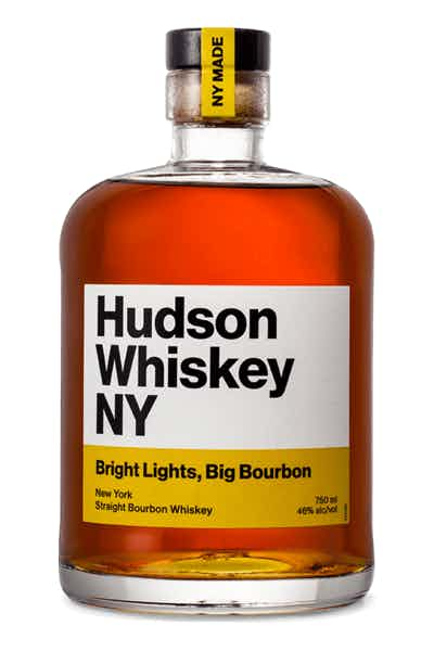 Hudson NY Bright Lights Big Bourbon Whiskey