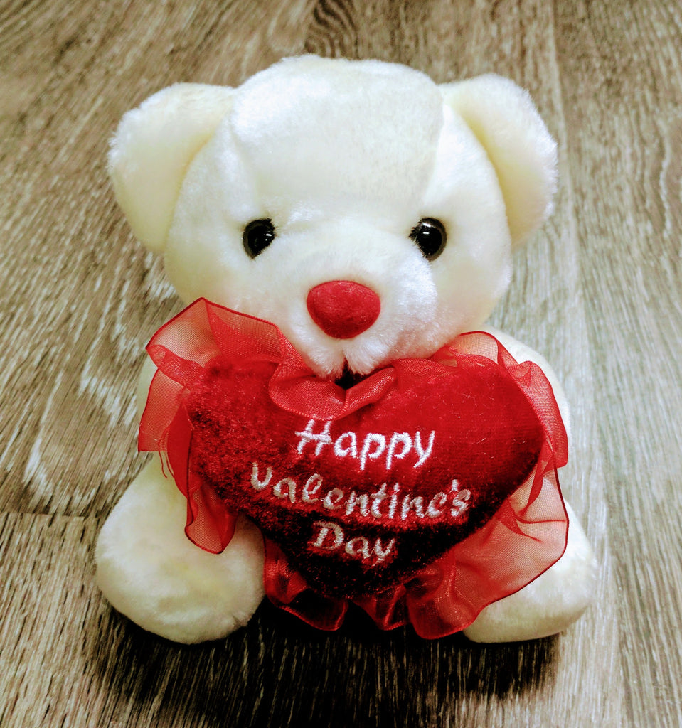 Plush Valentine Bear