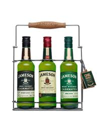 Jameson Trilogy Collection Irish Blended Whiskey Gift Set
