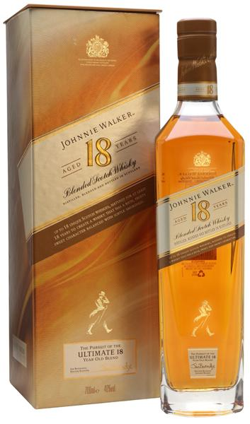 Johnnie Walker 18 Year Scotch Whisky (formerly Platinum)