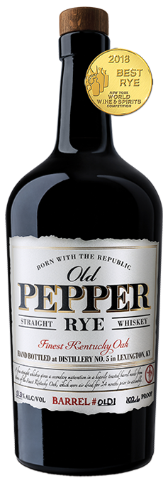 James E. Pepper Old Pepper Rye Whiskey