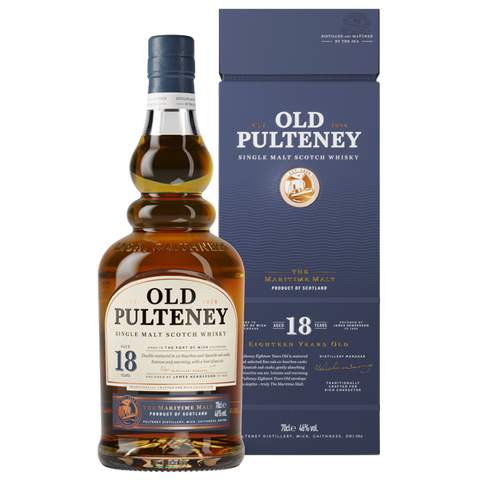 Old Pulteney 18 Year Scotch Whiskey