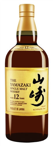 Suntory Yamazaki Single Malt Whisky 12 Year Old