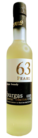 Burgas 63 Pearl Grape Brandy (375 ml) - Wine Globe