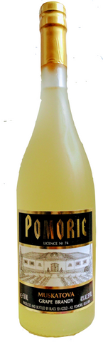 Pomorie Grape Brandy Muscat - Wine Globe