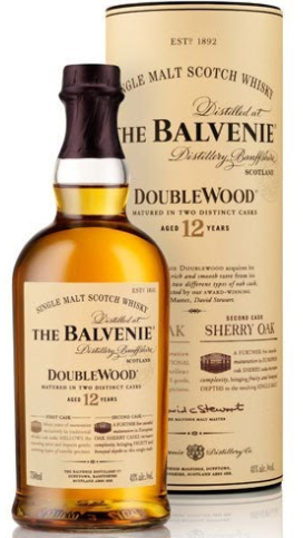 Balvenie Single Malt 12 Year Doublewood - Wine Globe