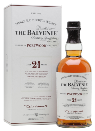 Balvenie Single Malt Scotch 21 Year Portwood - Wine Globe