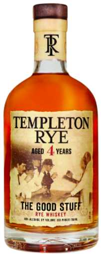 Templeton Rye Whiskey 4 Year Old - Wine Globe