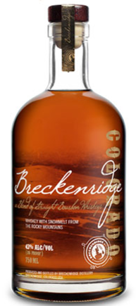 Breckenridge Straight Bourbon - Wine Globe