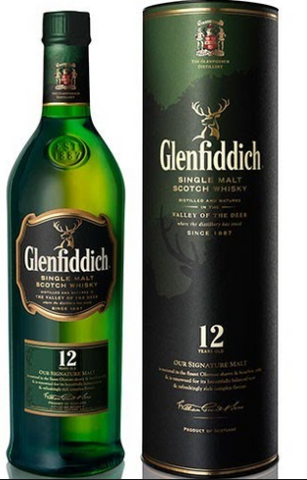 Glenfiddich Single Malt Scotch Whisky 12 Year