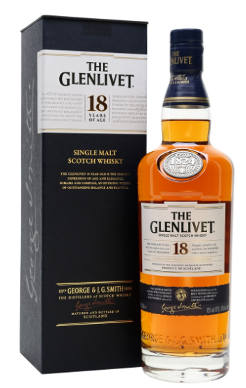 Glenlivet 18 Year Single Malt Scotch - Wine Globe