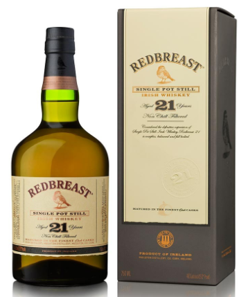 Redbreast 21 Year Old Pure Pot Still Irish Whiskey - Wine Globe