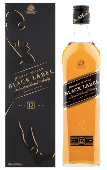 Johnnie Walker Black Label  12 Year Scotch Whisky