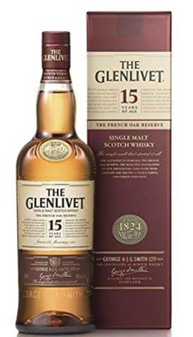 Glenlivet 15 Year French Oak Single Malt Scotch