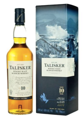 Talisker 10 Year Single Malt Scotch