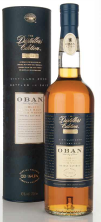 Oban Distillers Edition Single Malt Scotch