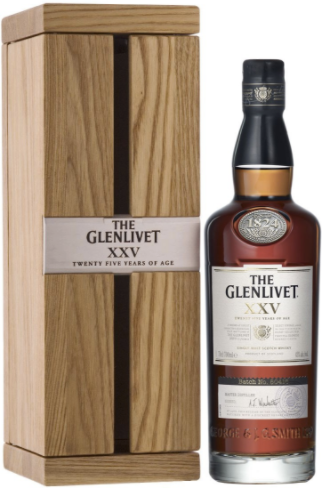 Glenlivet XXV 25 Year Single Malt Scotch
