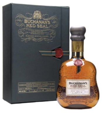Buchanan's Red Seal Scotch