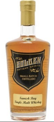 Golden Distillery Samish Bay Single Malt Whiskey