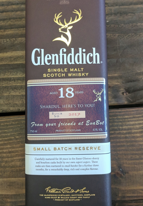 Glenfiddich 18 Years Single Malt Scotch Whisky
