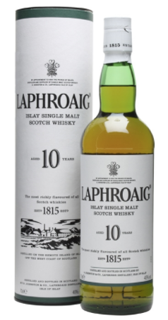 Laphroaig 10 Year Single Malt Scotch