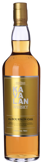 Kavalan Ex-Bourbon Oak Single Malt Whiskey