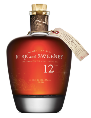Kirk and Sweeney 12 Year Old Dominican Rum