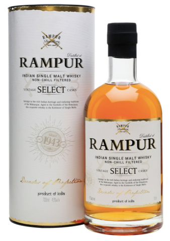 Rampur Single Malt Whiskey