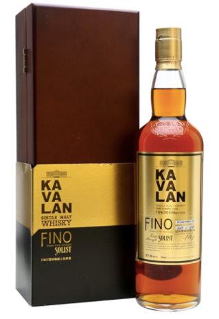 Kavalan Fino Sherry Cask Strength Single Malt Whisky