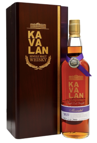 Kavalan Moscatel Cask Strength Single Malt Whisky