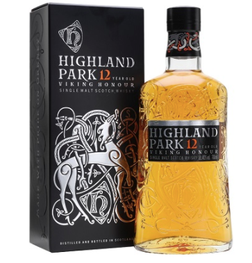 Highland Park 12 Year Viking Honour Single Malt Scotch
