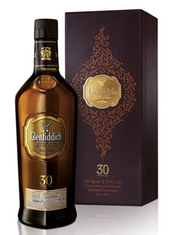 Glenfiddich 30 Year Single Malt Scotch