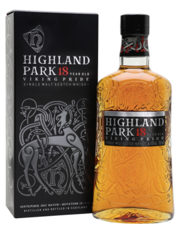 Highland Park Viking Pride 18 Year Single Malt