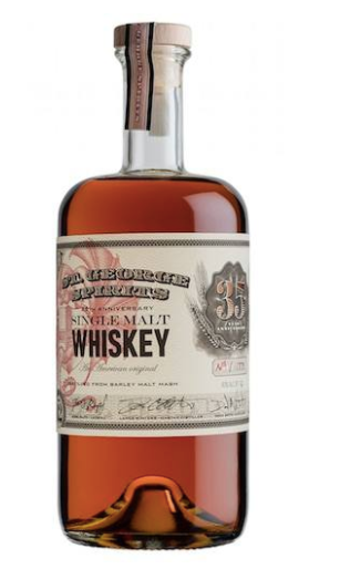St. George 35th Anniversary Single Malt Whiskey