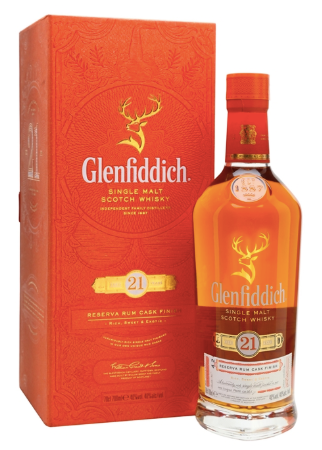 Glenfiddich  21 Year Reserva Rum Cask Finish