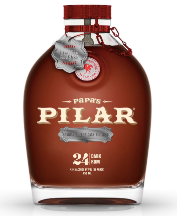 Papa's Pilar Sherry Cask 24 Year Dark Rum Limited Release