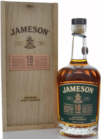 Jameson 18 Year Irish Whisky