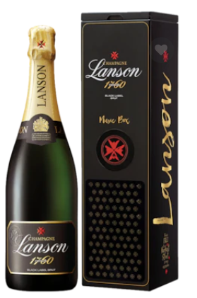 Lanson Black Label Music Box Champagne