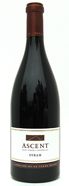 Terre Rouge Syrah Ascent 2012