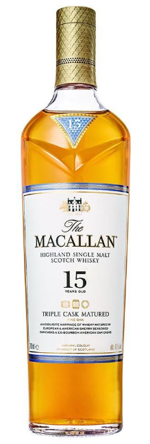 Macallan 15 Year Old Triple Cask Single Malt Scotch