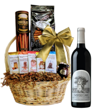 Silver Oak Gift Basket