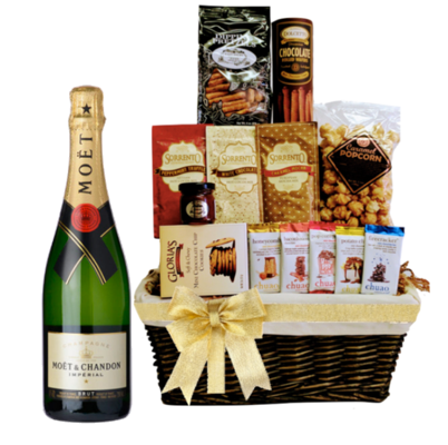 Celebrations Moet Gift Basket