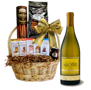 California Dreams Chardonnay Gift Basket